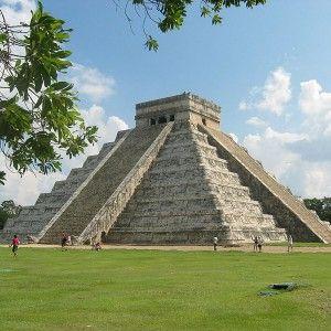 Piramida de la Chichen Itza