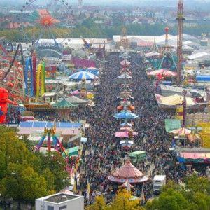Octoberfest-vedere panoramica