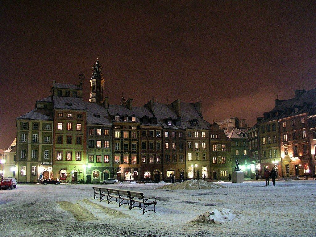Varsovia iarna