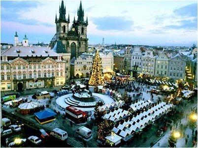 Piata de Craciun Praga