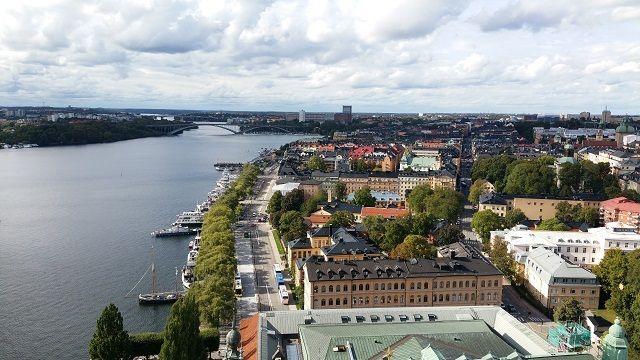 VEDERE DIN TURNUL PRIMARIEI STOCKHOLM 1