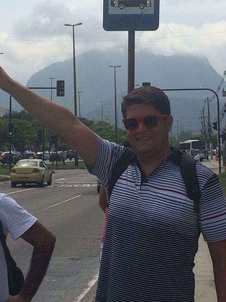 Rio bus stop