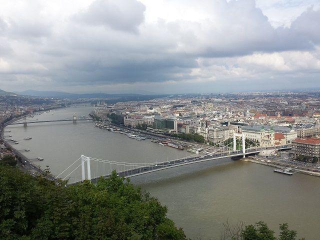 panorama Budapesta