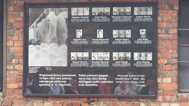 Cea mai mare executie la  Auschwitz