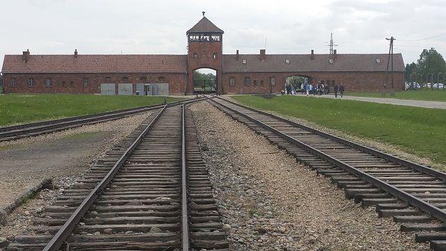 Poarta de acces la Birkenau